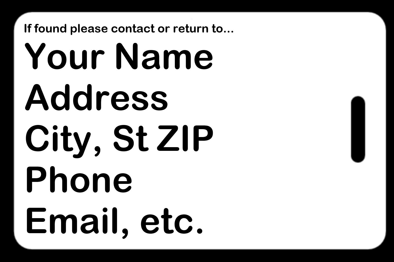 FREE Personalization on back!